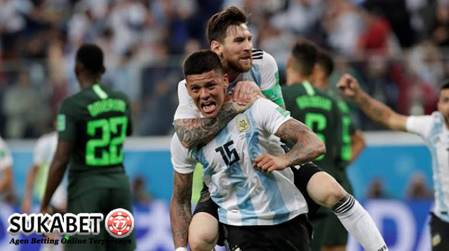 Gol Dari Messi Dan Marcos Rojo Selamatkan Argentina
