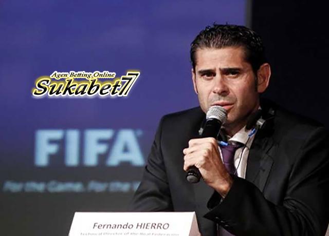 Pecat Lopetegui, Spanyol Rekrut Fernando Hierro Untuk Piala