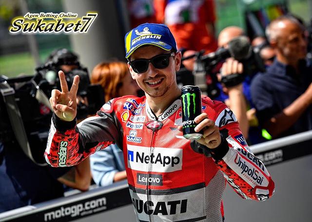 Podium Pertama Jorge Lorenzo Di Mugello Bersama Ducati