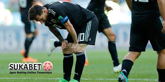 Lionel Messi Gagal Bawa Argentina Menang Atas Islandia