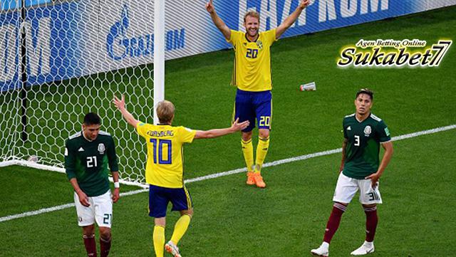 Swedia Dan Meksiko Keluar Sebagai Wakil Juara Dari Grup F