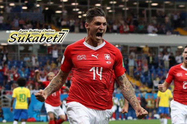 Swiss Sukses Tahan Imbang Brasil Setelah Tertinggal Lebih Dulu