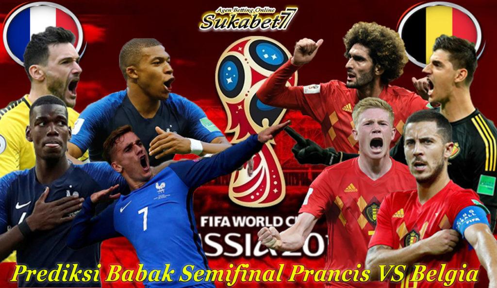 Prediksi Babak Semifinal Antara Prancis VS Belgia Di Piala Dunia 2018