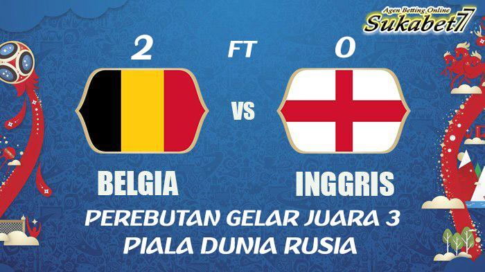 Belgia Amankan Gelar Juara Tiga Piala Dunia Rusia