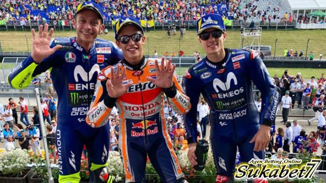 Marc Marquez Kembali Kuasai Podium Di Sachsenring
