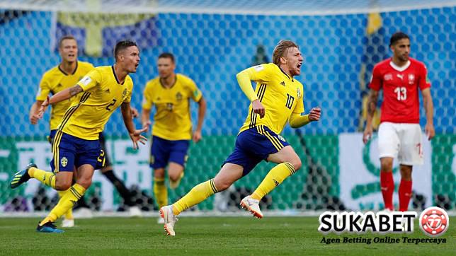 Unggul Tipis Atas Swiss, Swedia Lolos Ke Perempatfinal