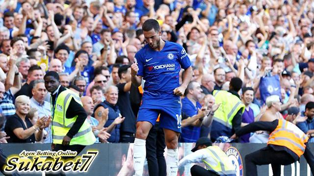 Gol Pedro Dan Hazard Pastikan Kemenangan Chelsea