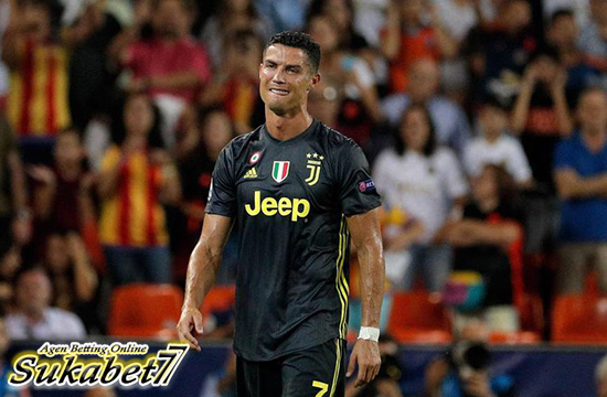 Kartu Merah Perdana Cristiano Ronaldo Di Liga Champions