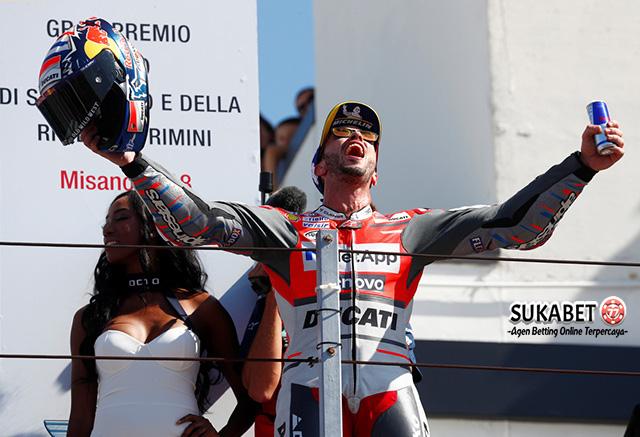 Podium San Marino Misano Jadi Milik Andrea Dovizioso