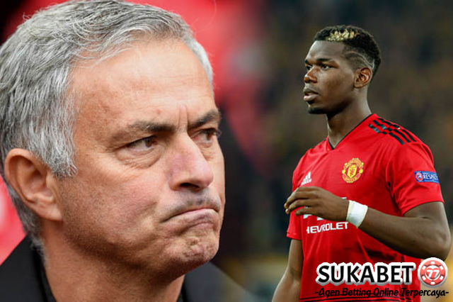 Perseteruan Jose Mourinho Dengan Paul Pogba Kembali Memanas