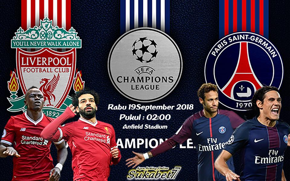 Prediksi Liga Champions 2018 Liverpool Kontra PSG