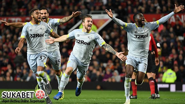 Derby County Pastikan United Pulang Lebih Awal