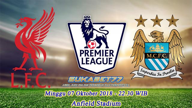 Prediksi Liga Premier Inggris, Antara Liverpool vs Manchester City