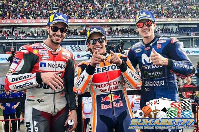 Menang Di Thailand, Marquez Selangkah Lebih Dekat Ke Gelar Juara
