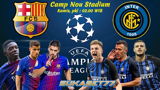 Prediksi Liga Champions Barcelona Kontra Inter Milan