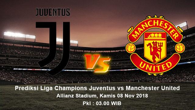 Prediksi Pertandingan Juventus vs Manchester United