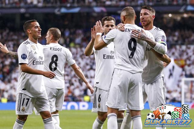 Real Madrid Menang Telak Atas Viktoria Plzen