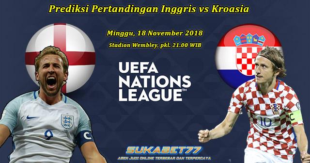 Prediksi Inggris Kontra Kroasia Di UEFA Nation League