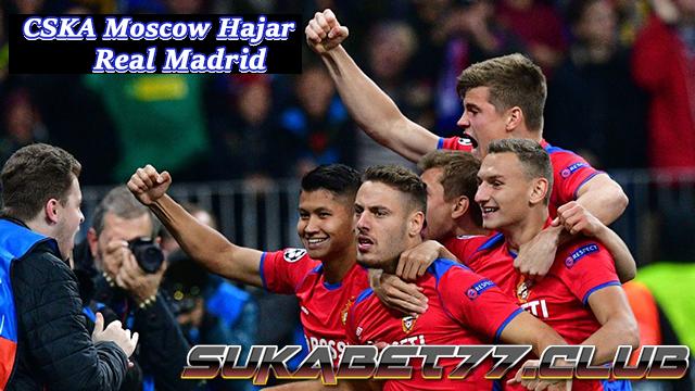 CSKA Moscow Hajar Real Madrid Di Santiago Bernabeu