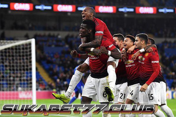 Paul Pogba Bawa United Raih Tiga Poin
