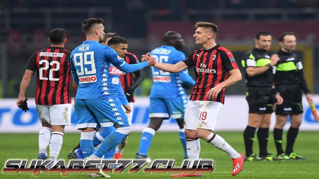 Hasil Imbang Akhiri Pertemuan Milan dan Napoli