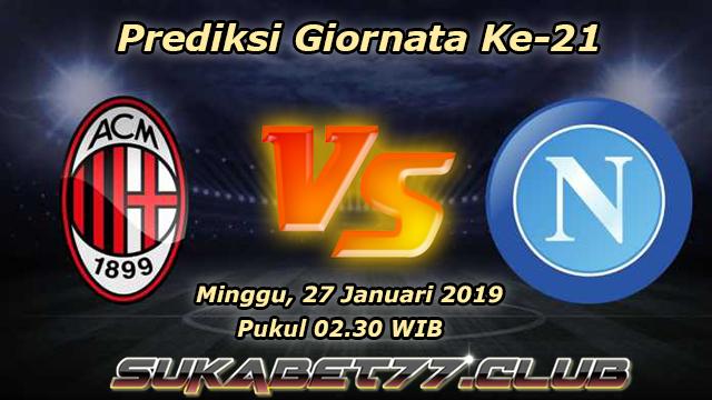 Prediksi Pertandingan AC Milan vs Napoli