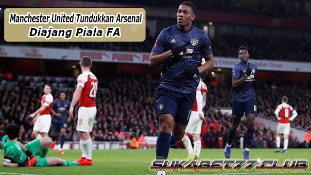 Tundukkan Arsenal, Manchester United Perpanjang Laju Positif