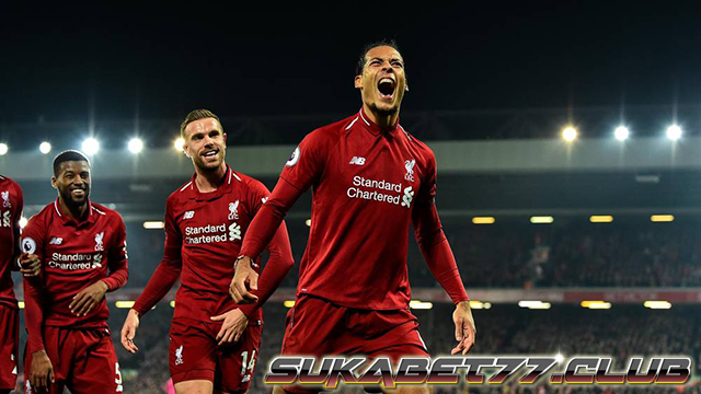 Pesta Gol Liverpool Di Kandang Sendiri