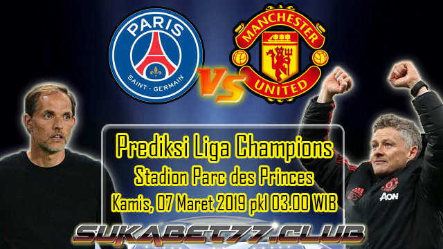 Prediksi Liga Champions PSG vs Manchester United