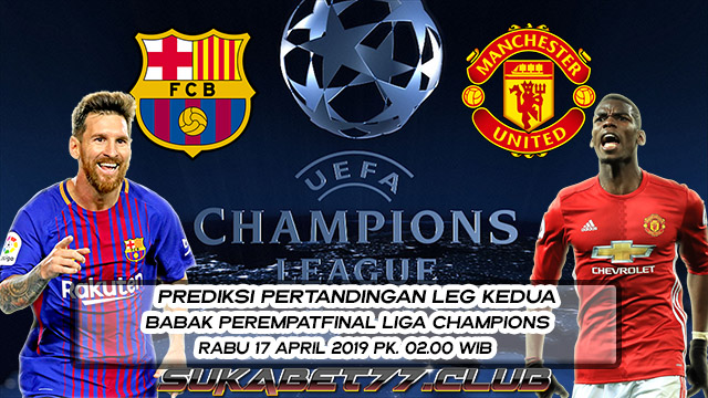 Prediksi Leg Kedua Liga Champions Barcelona vs Manchester United