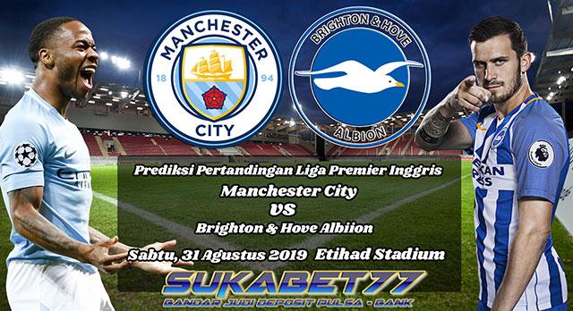 Prediksi Manchester City Versus Brighton & Hove Albion